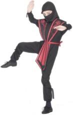 2a15530b0067 Dětský kostým ninja (s červeným zdobením)