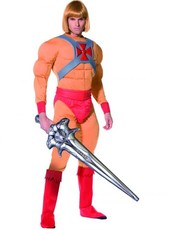 Pánský kostým HeMan and the Masters princ Adam
