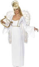 663b9c572481 Dámský kostým anděl s křídly