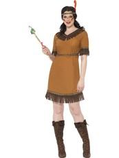 eb2ca7a2fcaf Dámský kostým Indiánská dívka