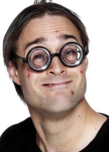 Brýle šilhající vědátor