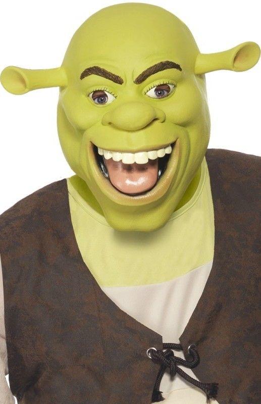 Latexová maska Shrek