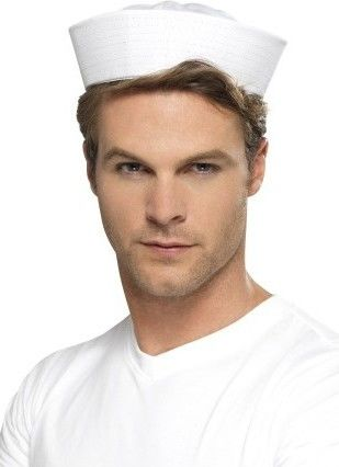 Čepice americký námořník (bílá)
