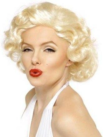 Dámská paruka Marilyn Monroe blond