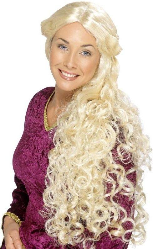 Dámská paruka Guinevera blond (Guinevere)