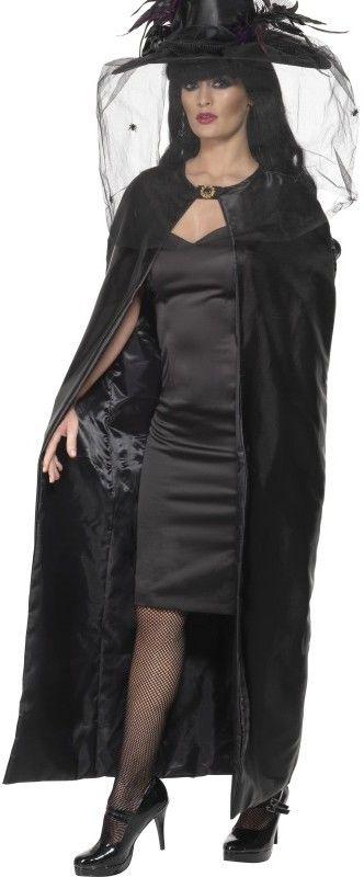 Dámský plášť čarodějnice černý