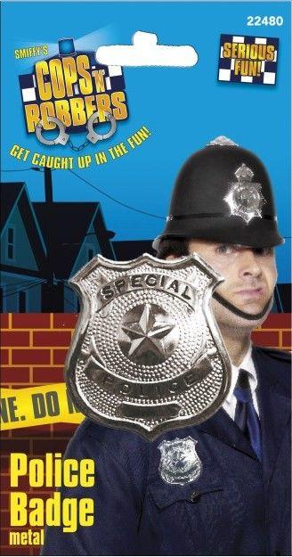 Odznak policie kovový