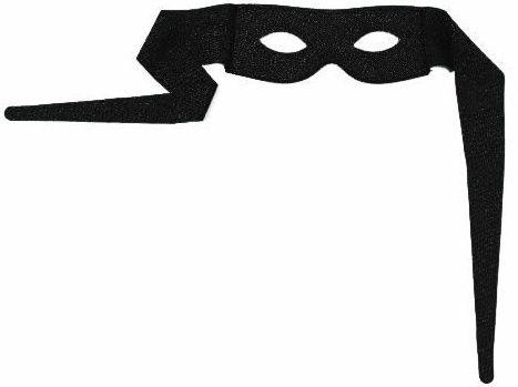 Škraboška bandita (na zavázání)