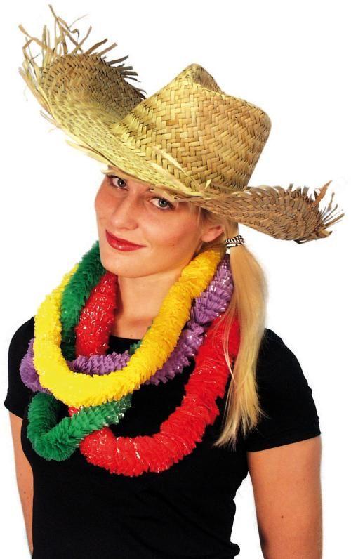 Slamák Plážový havajský