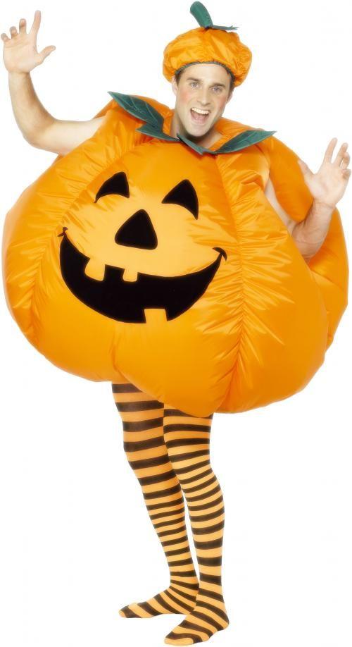 Pánský kostým Halloween dýně