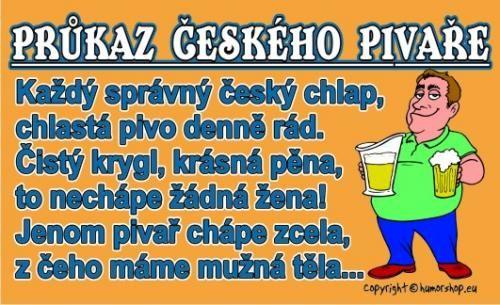 Průkaz Průkaz českého pivaře