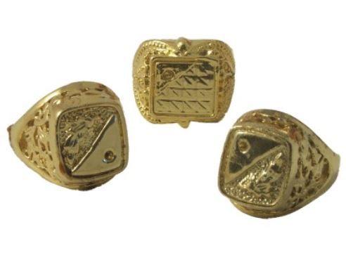 Prstýnek Jumbo zlatý