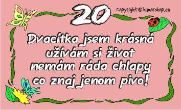 Průkaz 20 pro ženu
