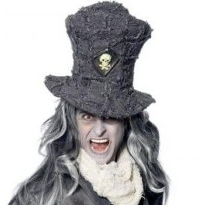 Klobouk vampír (šedý)