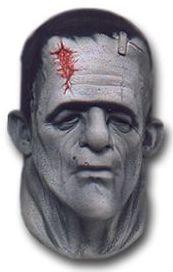 Maska na Halloween Frankenstein