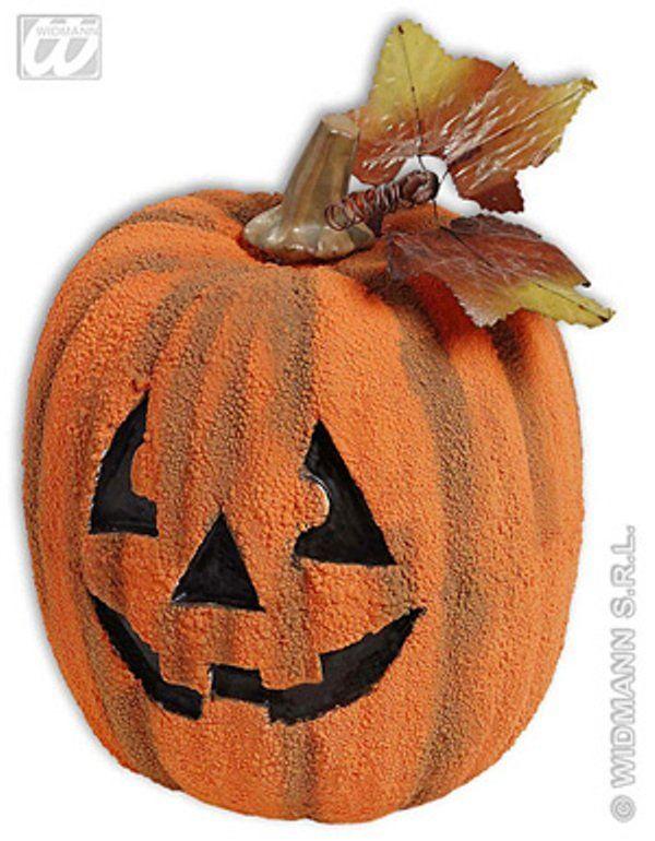 Halloweenská dýně polystyren 24 cm