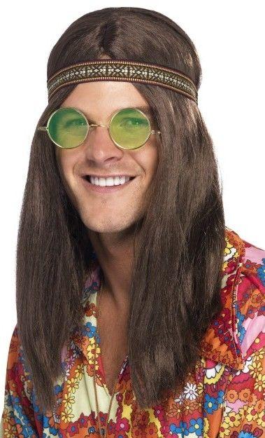 Pánská sada hippiek (čelenka, brýle, přívěšek)