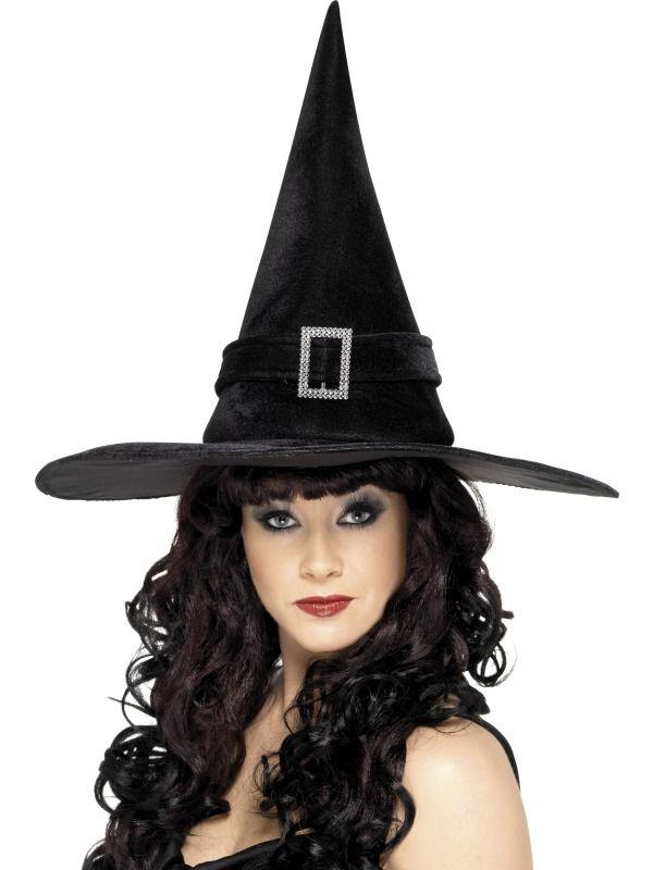 Klobouk Čarodějnice se sponou