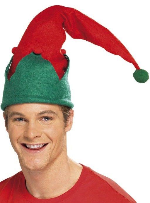 Klobouk Elf (s bambulkou)
