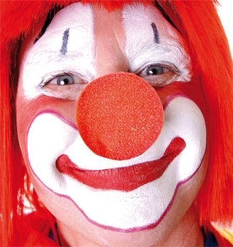 Molitanový klaunský nos červený (větší)