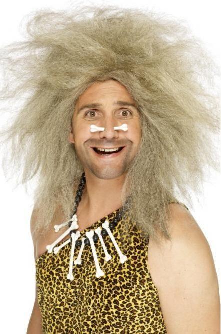 Pánská paruka pračlověk (caveman)