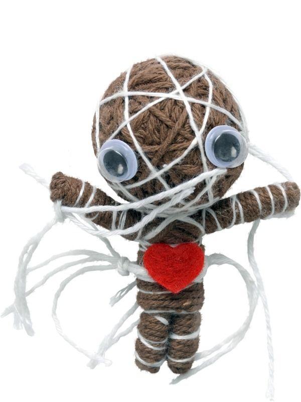 Přívěšek woodoo panenka Mumie (kofoláček)