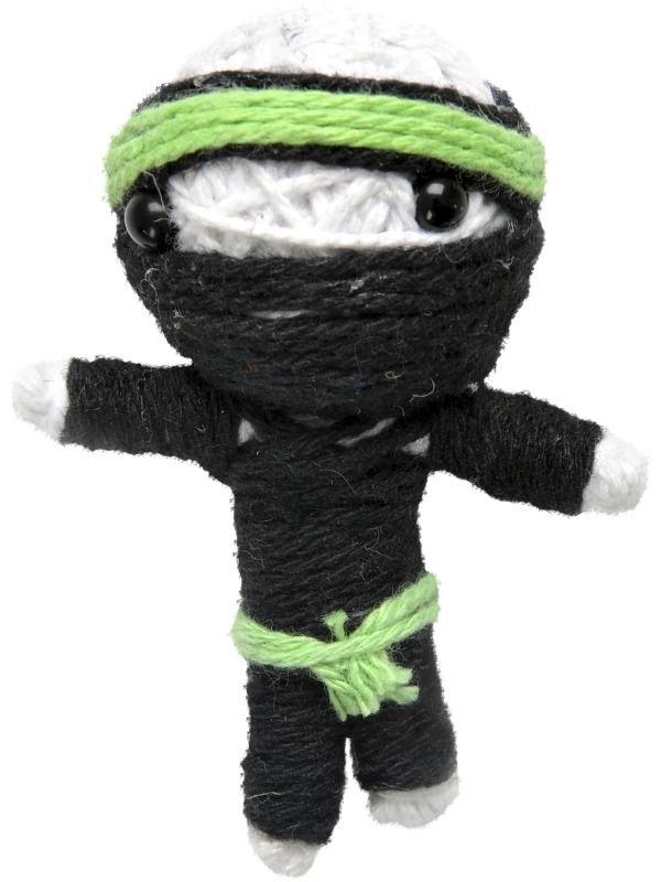 Přívěšek woodoo panenka Ninja