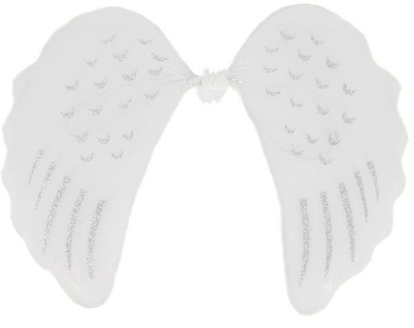 Andělská křídla malá bílá 35x45cm  a5bd00dc84