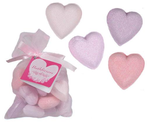 Koupelové mýdlo ve tvaru srdce (10ks)