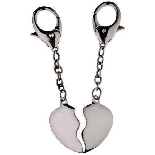 Přívěsky na klíče srdce