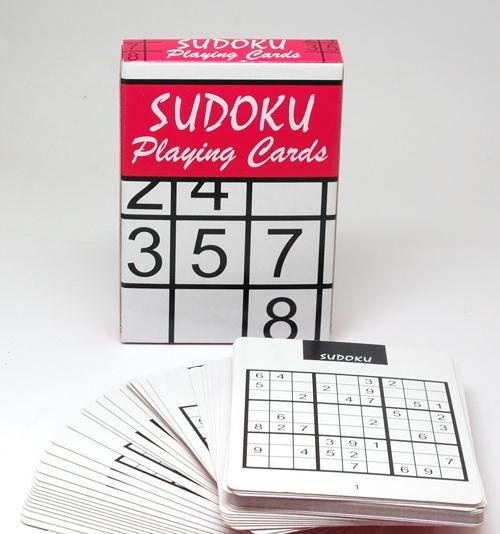 Sudoku karty