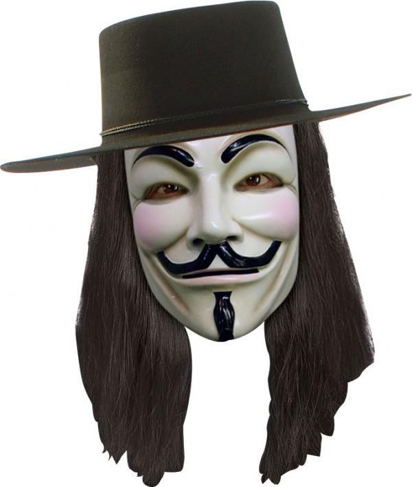 Pánská paruka V jako Vendetta
