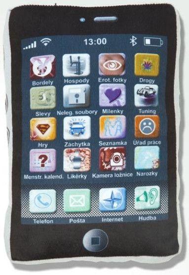 Polštářek iPhone