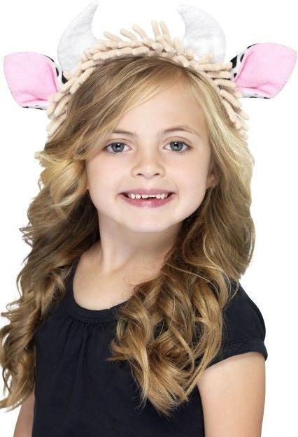 Dětská čelenka kravička