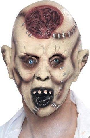 Halloweenská maska zombie po pitvě