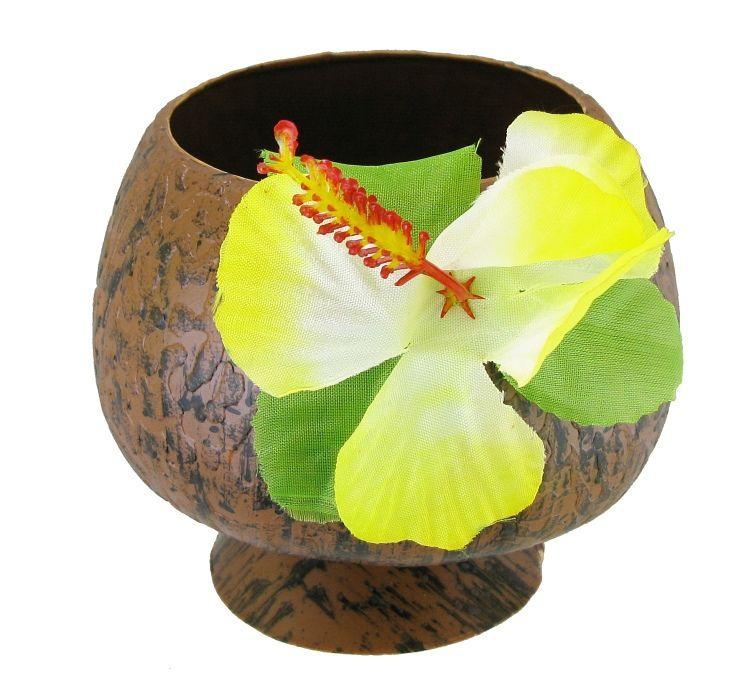 Havajský kokosový pohár