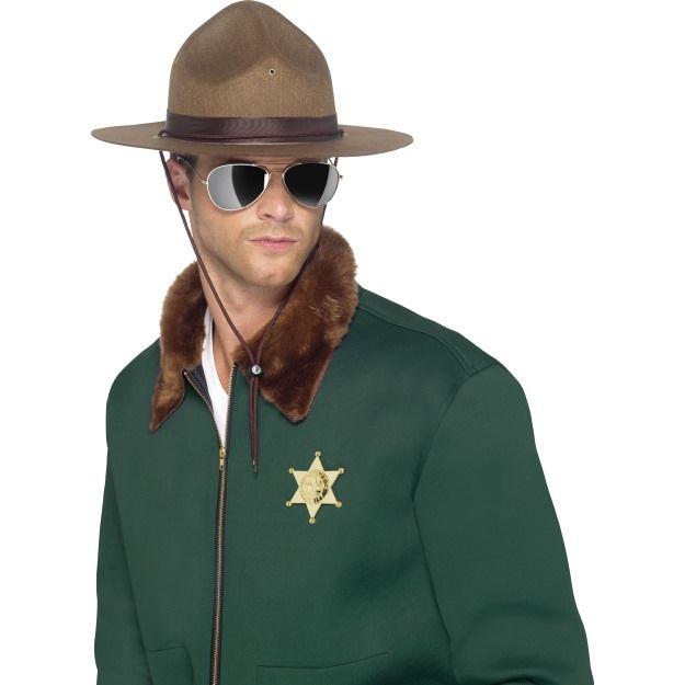 Klobouk Šerif hnědý