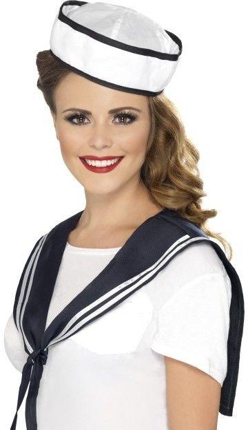 Sada námořník (šátek, čepice)