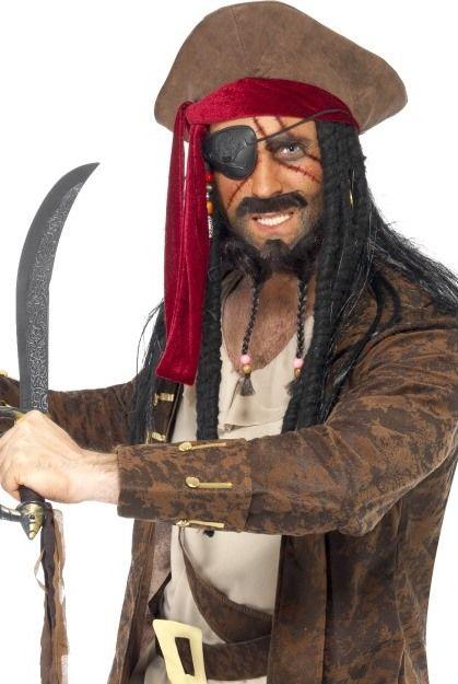Barva na obličej a tělo-sada pirát