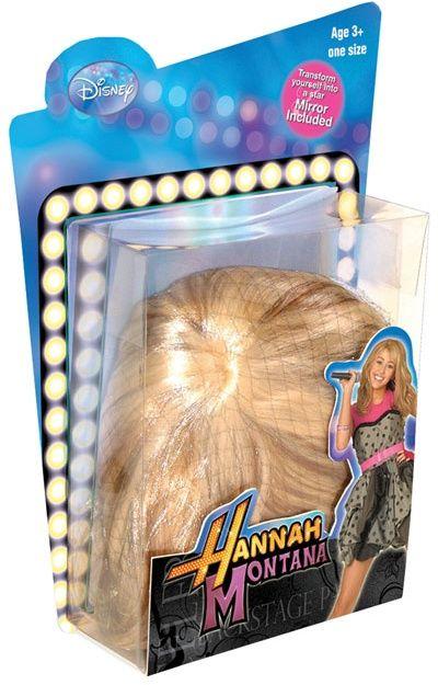 Dámská paruka Hannah Montana