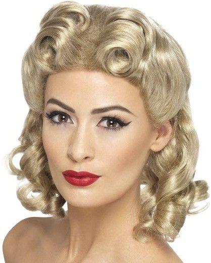 Dámská paruka zlatíčko - blond