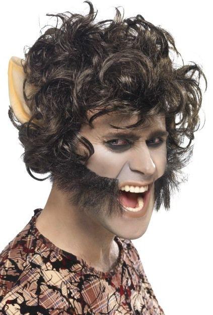 Pánská paruka vlkodlak
