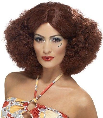 Dámská paruka 1970s Afro