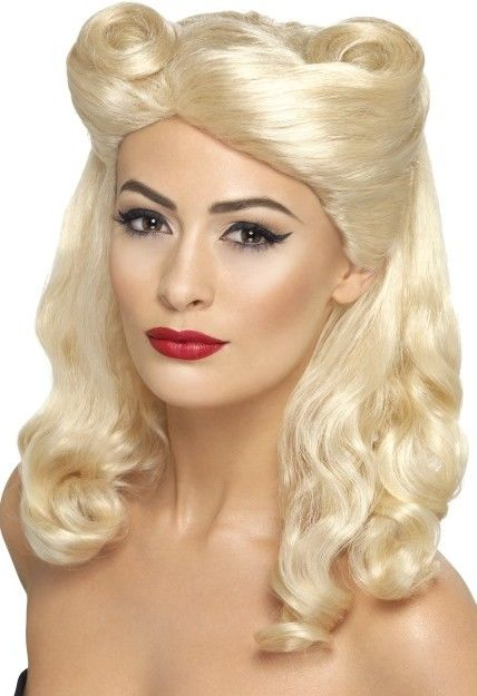Dámská paruka sladká blondýna