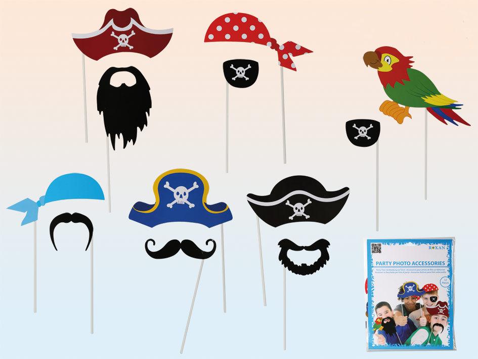 Dekorace na focení Piráti