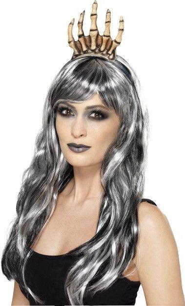 Halloweenská čelenka kosti