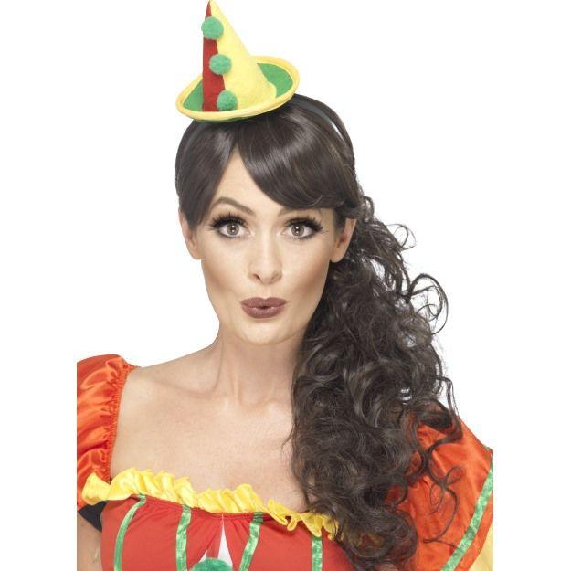 Mini klobouček klaun