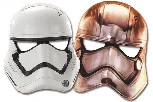 Papírové masky Star Wars 6ks