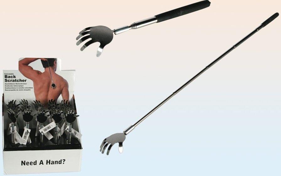 Teleskopické drbátko ruka