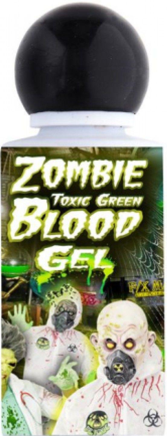 Zelená zombie krev